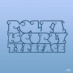 Rolka™ by Fontfabric , via Behance