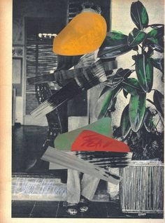Art. collage. For Example: André Bergamin