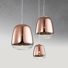 Contemporary pendant light HAIL Copper now is available at About Space lighting store. Copper Pendant Lights, Contemporary Pendant Lights, Pendant Lighting, Lighting Online, Lighting Store, Led Technology, Lighting Design, Light Fixtures, Bulb