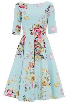 Hepburn in Mint Seville   The Pretty Dress Company