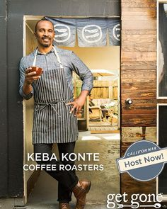Not only does Keba Konte have a progressive profit-sharing model for @redbaycoffee, he will to teach you about his coffee sharing, making and sourcing. Get in touch with us to join Keba and our growing community of #GetGone hosts.