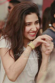 Pakistani fashion model & actress, Mahira khan