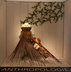 Anthropologie, 'Art of Display' Visual Merchandising Exhibition at Redefining Design 2014. The School of Fashion at Seneca College. #RedefiningDesign