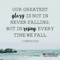 Rising when we fall. Great Week, Wednesday Wisdom, How To Stay Motivated, Monday Motivation, Fall, Autumn