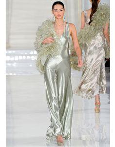Ralph Lauren Spring 2012 Mint Green Dress.