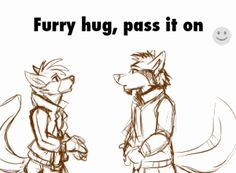 • hugs furry free hugs pass it on meeka22000 •