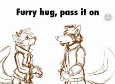 • hugs furry free hugs pass it on meeka22000 •