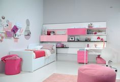 Simple Bedroom For Girls Inspiring Kids Canopy Bed Sets Curtains For ...