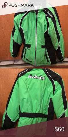 Women's snowmobile jacket Artic cat jacket artic cat Jackets & Coats Utility Jackets Womens Snowmobile Jackets, Utility Jacket, Fashion Tips, Fashion Design, Fashion Trends, Motorcycle Jacket, Clothes For Women, Coats, Outfits
