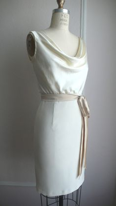 Penny Cocktail Dress, Knee length, 1940's inspired, rschone on Etsy.com $788