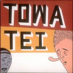 """Barry McGee's cover for Towa Tei's album """"Flash"""""""
