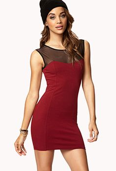 Colorblocked Bodycon Dress | FOREVER 21 - 2072976978