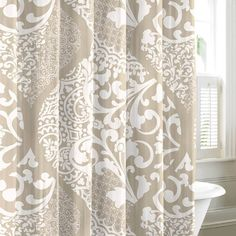 I pinned this Medley Shower Curtain from the Parisian Powder Room event at Joss and Main!