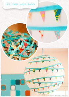 DIY Paper Lantern Upgrade