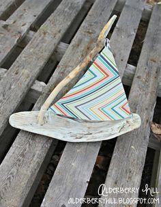 A Driftwood Boat - Alderberry Hill