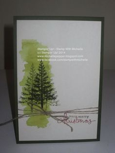 Stampin Up! - Stamp With Michelle: Endless Wishes with Festival Of Trees
