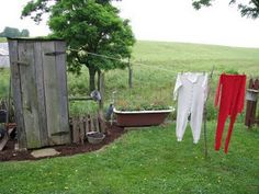 would like to put an old outhouse in my garden yard...for tools.