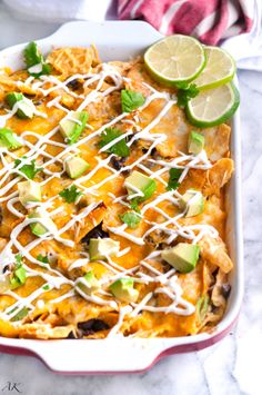 Vegetarian Black Bean Chilaquiles, the best breakfast for dinner you can ask for!