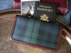 76d39d283f24 RARE Vintage RALPH LAUREN Blackwatch Plaid Long Wallet Unisex Purse  Accessory  RalphLauren  Wallet Ralph