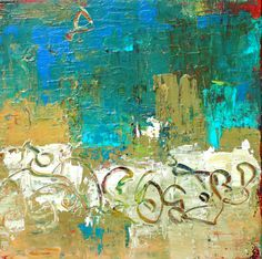 ORIGINAL Abstract Painting. $100.00, via Etsy.