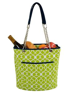 9f9f0a8cb29b Picnic at Ascot Trellis Green Large InsulAted Tote in 2019 ...