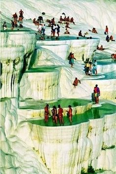 31. #Paddle in the Hot Springs of #Pamukkale - 50 Ultimate #Travel Bucket List #Ideas ... → Travel [ more at http://travel.allwomenstalk.com ]  #Bucket #National #Finger #Fragment #Ultimate