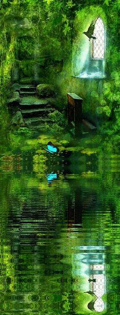 Watery green dreams