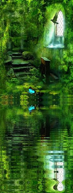 Watery green dreams