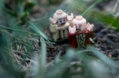 Day 133 - Quicksand - Some fun with lego in the yard #photoaday #project365 #lego #Quicksand