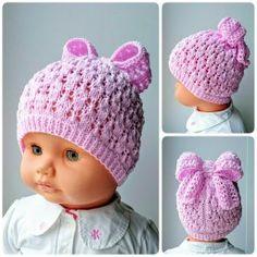 шляпки,шапочки Добро пожаловать в Одноклассники! Baby Knitting Patterns, Knitting For Kids, Loom Knitting, Knitting Projects, Crochet Projects, Crochet Patterns, Poncho Au Crochet, Bonnet Crochet, Crochet Beanie Hat