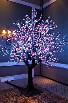 Our Led Cherry Blossom Trees Are Excellent To Brighten Up Any Event