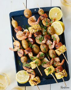 Grilling Recipes, Seafood Recipes, Dinner Recipes, Cooking Recipes, Dinner Ideas, Cooking Food, Seafood Dishes, Vegetarian Grilling, Party Recipes