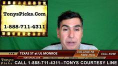 Texas St Bobcats vs. UL Monroe Warhawks Pick Prediction College Football...