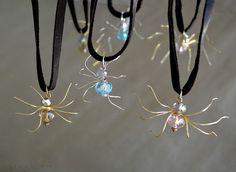 WobiSobi: Crystal, Spider Charms, DIY