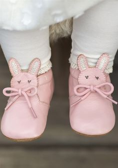 Livie and Luca Baby Shoes - Pipkin in Light Pink Shimmer