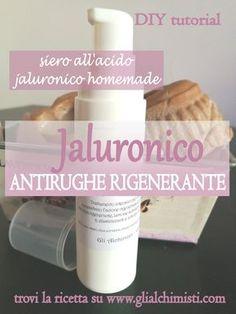 JALURONICO - Siero Intensivo antirughe rigenerante. #siero #aciojaluronico #antirughe #rigenerante #diy #fattoincasa #homemade #filler #glialchimisti #ferretti
