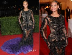 Beyonce Knowles In Givenchy Couture – 2012 Met Gala