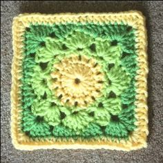 """Lovely Lace - Free 6"""" Afghan Block - Mystery Lapghan CAL - Julie Yeager Designs"""