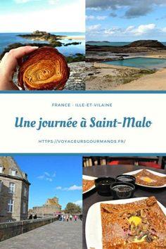 Une journée à Saint-Malo : que faire, que voir et où manger à Saint-Malo pendant un jour, voir même un week-end. Idées aux alentours de Saint Malo. Week End France, Places To Travel, Places To Go, Destinations, English Channel, Channel Islands, Mont Saint Michel, Blog Voyage, Normandy