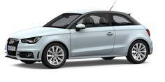 Audi A1 in Cumulus Blue