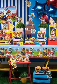 Festa Patrulha Canina  60 Ideias de Decoração e Fotos do Tema 6562a434d8ada