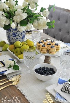 Dear Lillie: A Little Preview of a Mother's Day Brunch Tablescape
