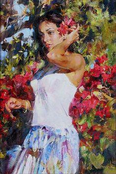 Michael & Inessa Garmash art