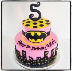 batgirl birthday cakes - Google Search
