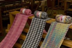 Woven Sock Yarn Scarves | Flickr - Photo Sharing!