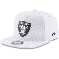 d992bfb680c Men s Oakland Raiders New Era White 2017 Color Rush 9FIFTY Snapback  Adjustable Hat