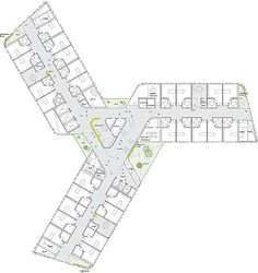 DNV Gødstrup - Projects - C.F. Møller Hotel Design Architecture, Religious Architecture, Concept Architecture, School Architecture, Hospital Floor Plan, Hospital Plans, The Plan, How To Plan, Mall Design