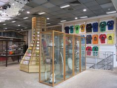 """DSM T-Shirt Shop""  New Spaces at DSML : london.doverstreetmarket.com  Accessed: August 20, 2015"