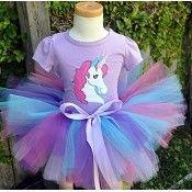 Girls Birthday Enchanted Unicorn Tutu Set