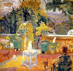 "Pierre Bonnard _ ""The terrace at Grasse"" 1912"